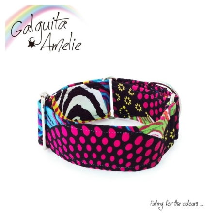 collar original para perro fuchsia cool