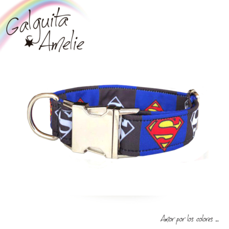 Collar para perro Superman Clic